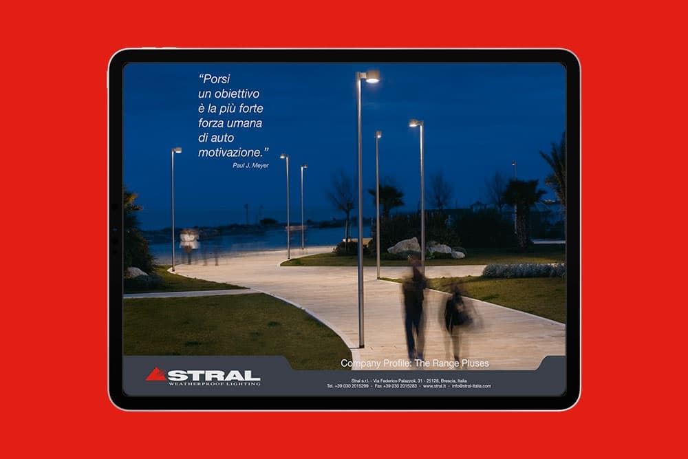 Stral - Illuminazione per pubblico e privato