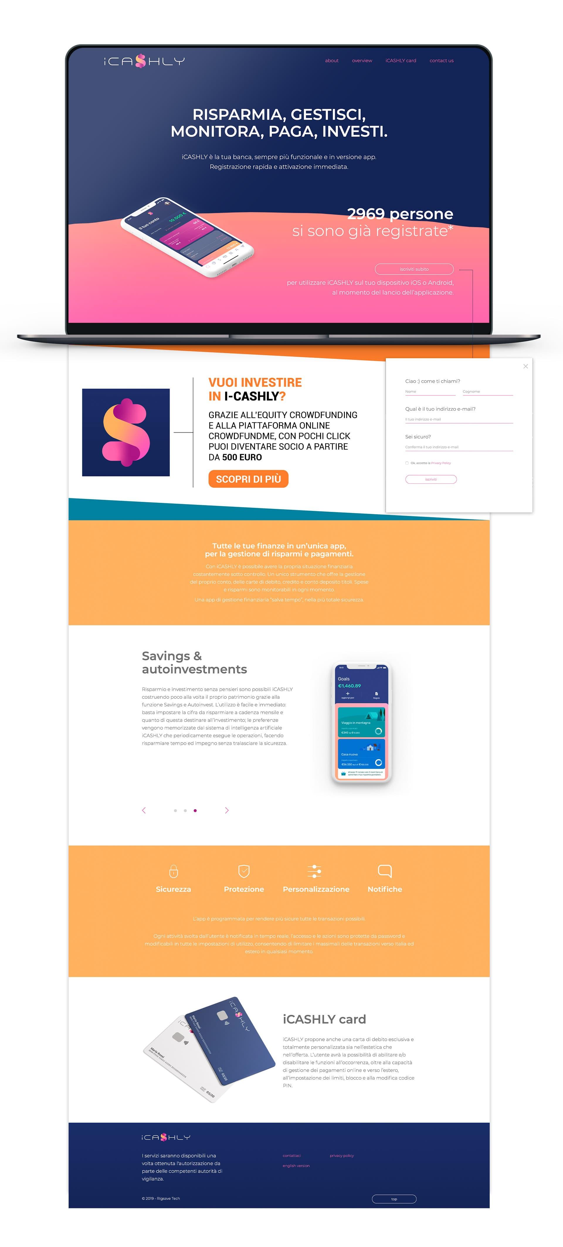 iCashly - Un'unica app per le tue finanze