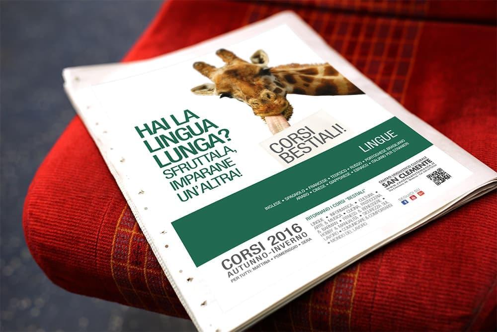 Centro Linguistico Culturale San Clemente - Corsi per tutti i gusti