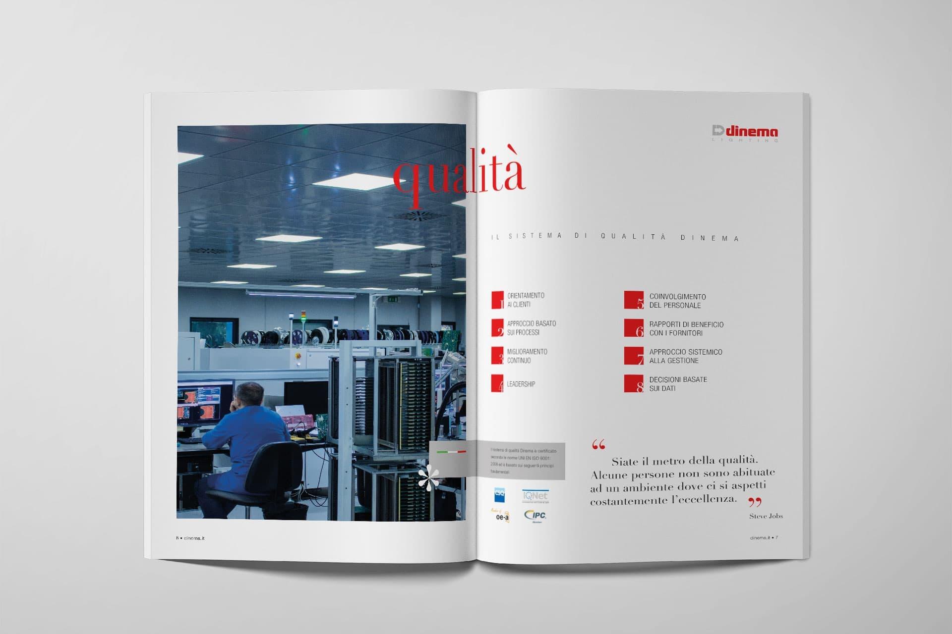 Dinema - Tre unità di business, un'unica forma estetica